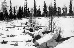 Vinterkriget utkämpades mestadels under sträng kyla som kunde ligga på fyrtio till femtio minusgrader.