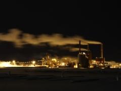 Stora Ensos massa- och pappersbruk i Uleåborg, Norra Österbotten.