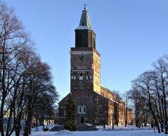 Åbo domkyrka i december 2004